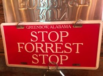 Bubba Gump - to get hep from a waiter display this sign