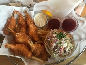 Bel's Fried Shrimp Platter