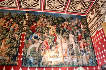 Stirling Castle - Unicorn Tapestries