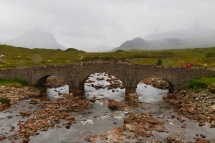 Sligachan with the Cuillin Mountains in the background