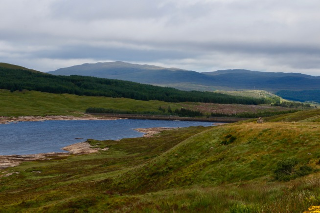 Scenery between the Isle of Skye and Fort William