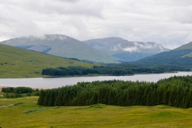 Scenery from Fort William to Stirling