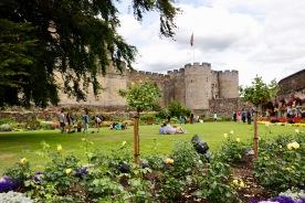 Stirling Castle - Queen Anne Garden
