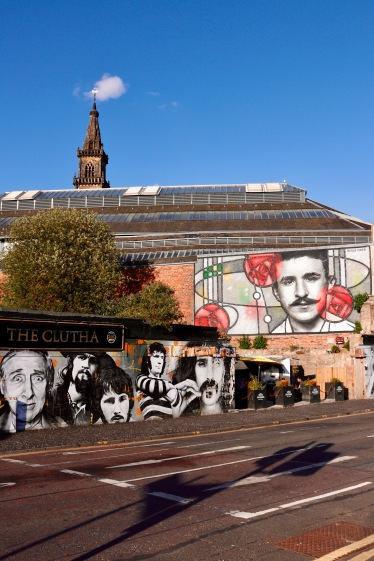Glasgow - The Clutha Hotel where people were killed when a Police helicopter crashed