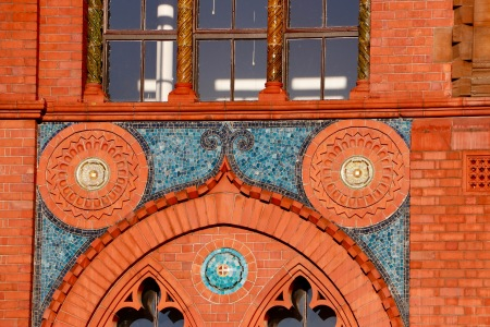 Templeton's Carpet Factory - replica of The Doge's Palace from Venice - in Glasgow