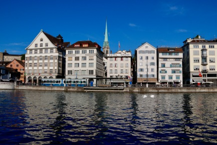 Zurich by the River Limmat