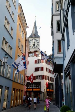 Zurich alleyway
