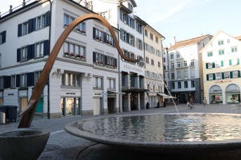 Fountain in Zurich