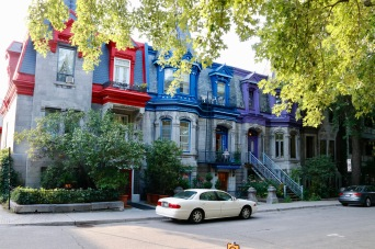 Montreal - gorgeous Victorian homes