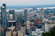 Montreal from the lookout
