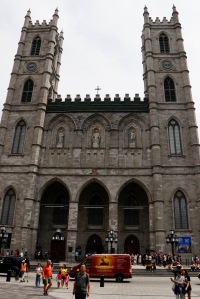 Notre Dame Cathedral Montreal