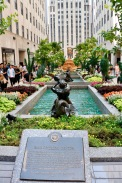 Fountains at the Rockefeller Centre