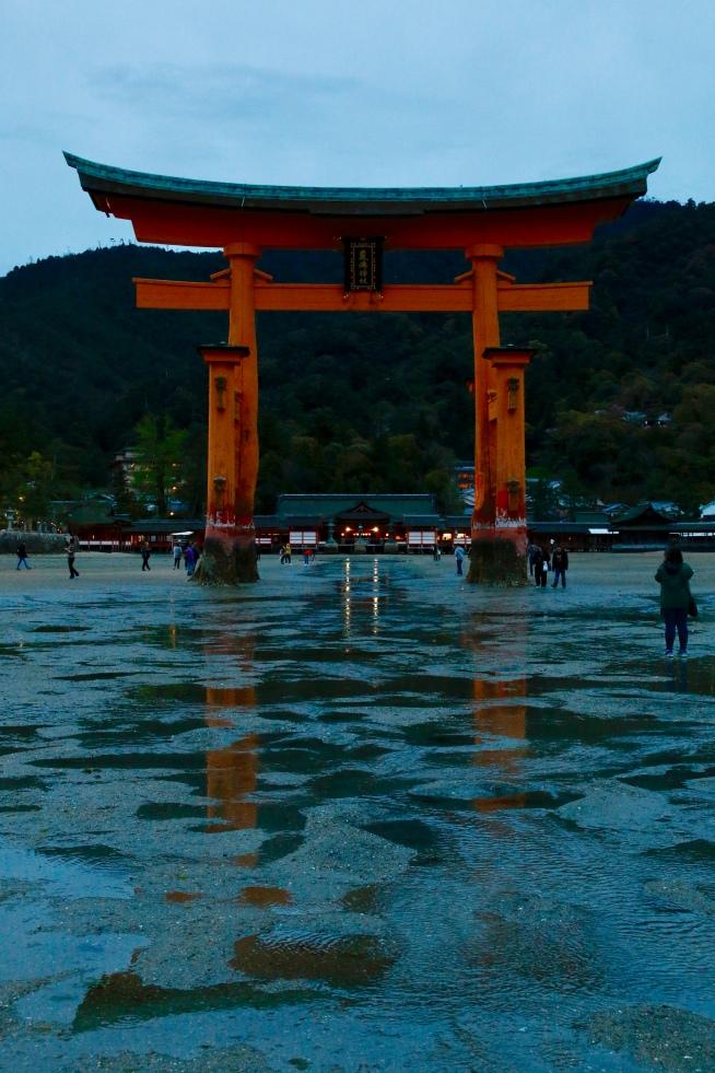 Tori Gate, Miyajima Island, Japan