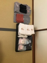 Complimentary items - Miyajima Grand Hotel Arimoto, Miyajima Island, Japan