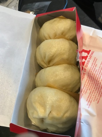 Steamed pork buns, Osaka, Japan