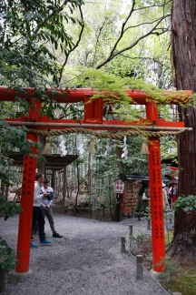 Small shrine near the Arashiyama Bamboo Grove