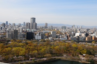 View from Osaka Castle, Osaka