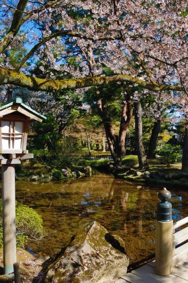 Kenrokuen Garden, Kanazawa Castle Park, Kanazawa, Japan