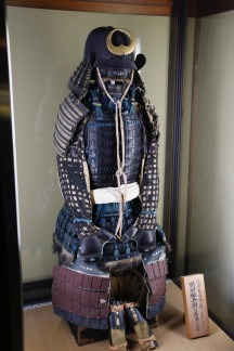 Replica samurai clothing - Nomura Samurai House, Kanazawa, Japan