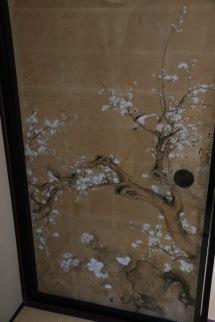Silk screens from Nomura Samurai House, Kanazawa, Japan