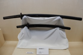 Sheaths from the Edo Period at Nomura Samurai House, Kanazawa, Japan