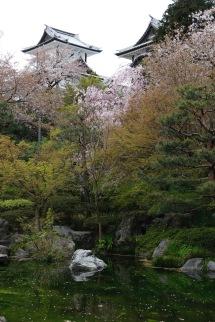 Park near the Kanazawa Castle, Kanazawa, Japan