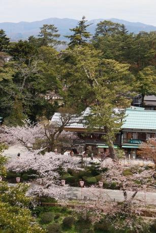 View from Kanazawa Castle, Kanazawa, Japan