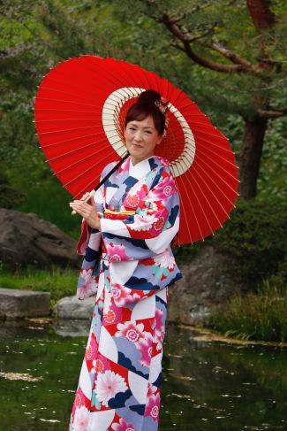 Kimono dressed lady, Kanazawa, Japan