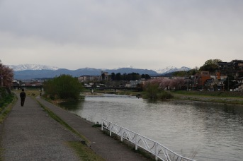 View of the River, Takayama, Japan