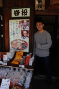 The man who created these amazing treats, Miyagawa Morning Markets, Takayama, Japan