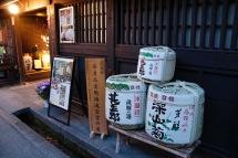 Sake barrels, Takayama, Japan