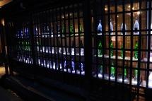Sake bottles, Takayama, Japan
